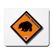 Bear Crossing Mousepad