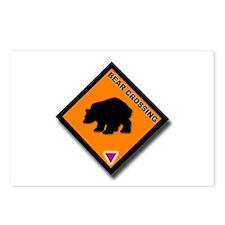 Bear Crossing Postcards (Package of 8)