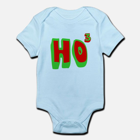 Ho3 (Ho, Ho, Ho) Infant Bodysuit