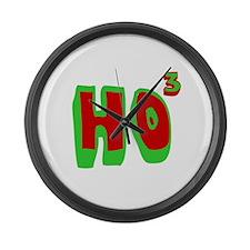 Ho3 (Ho, Ho, Ho) Large Wall Clock