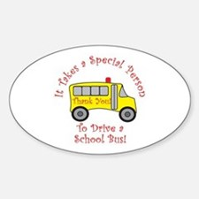 School Bus Driver Decal