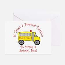 School Bus Driver Greeting Card