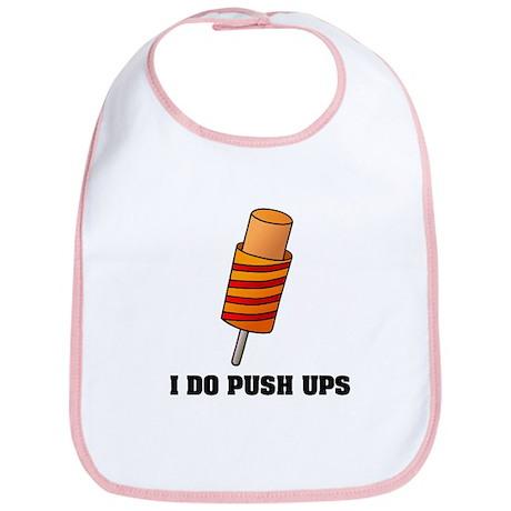 I Do Push Ups Bib