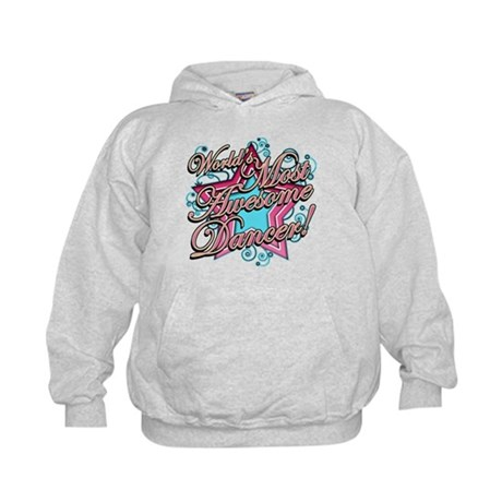 Worlds Most Awesome Dancer Kids Hoodie
