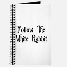 Follow The White Rabbit Journal