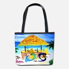 Mermaid Tiki Bar Bucket Bag