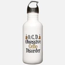 Funny Cello Water Bottle