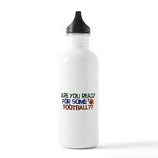 Football Season Water Bottle