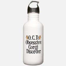 Corgi Obsessed Water Bottle