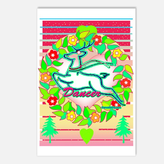 Dance Holidays Postcards (Package of 8)