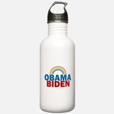 Obama Rainbow Water Bottle