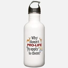 Anti-Hunting Animal Rights Water Bottle