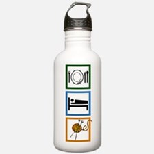 Eat Sleep Knit Water Bottle