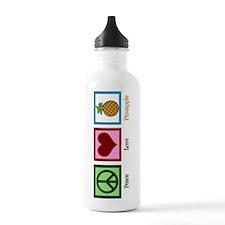Peace Love Pineapple Water Bottle