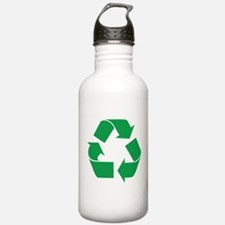 Green Recycle Water Bottle