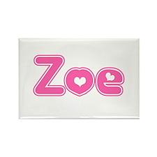 """Zoe"" Rectangle Magnet"