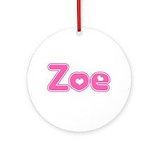 """""""Zoe"""" Ornament (Round)"""