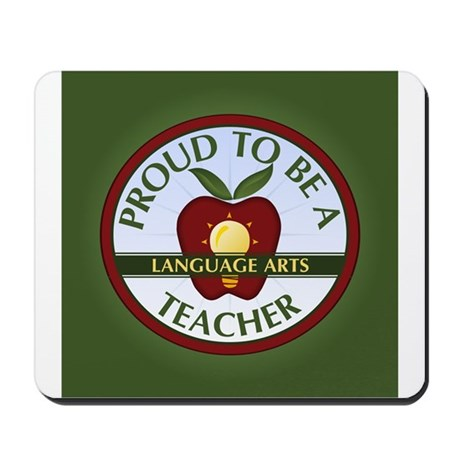 Language Arts Teacher Mousepad