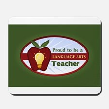 Language Arts Teacher Mousepad