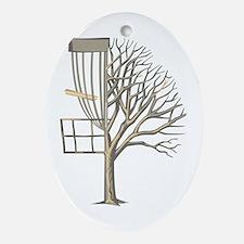 Macomb Disc Golf Ornament (Oval)