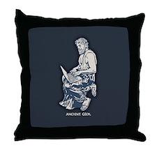 Ancient Geek Throw Pillow