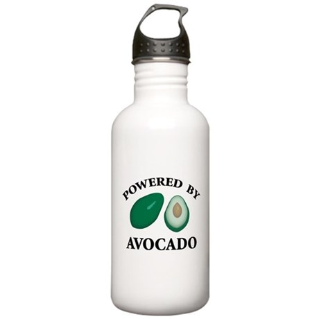 Powered By Avocado Stainless Water Bottle 1.0L