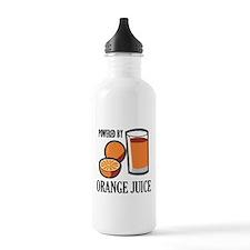 Powered By Orange Juice Water Bottle