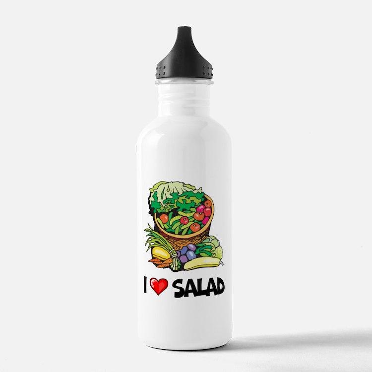 I Love Salad Water Bottle