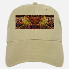 Two wolves Baseball Baseball Cap