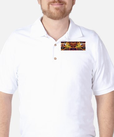 Two wolves Golf Shirt
