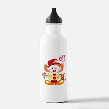 Love Clown Water Bottle
