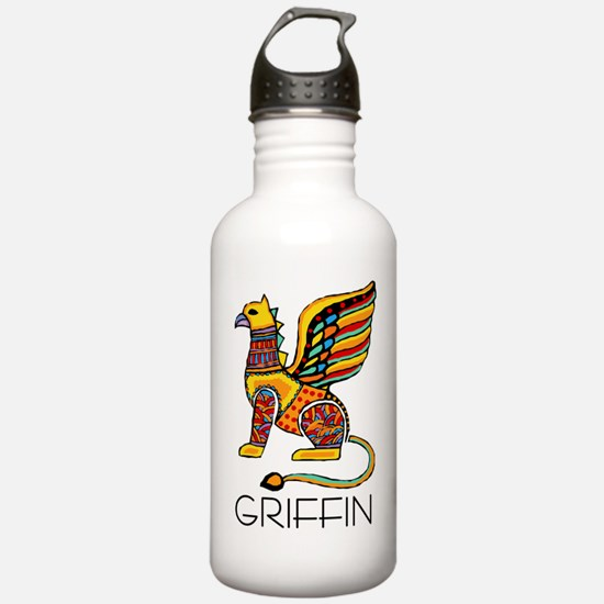 Colorful Griffin Water Bottle