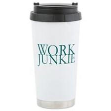 Work Junkie Travel Mug