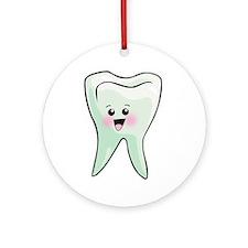 Dentist - Healthy Teeth Ornament (Round)