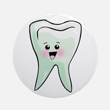 Dentist - Healthy Teeth Ornament (Round)