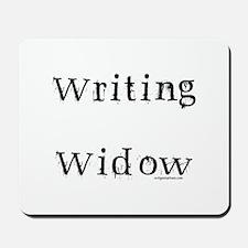 Writing widow Mousepad