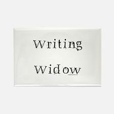 Writing widow Rectangle Magnet
