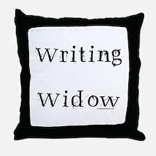 Writing widow Throw Pillow