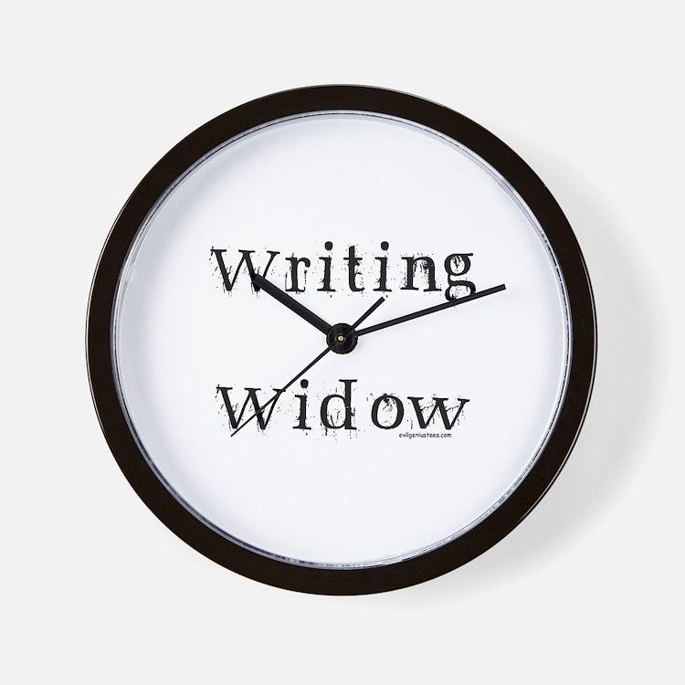 Writing widow Wall Clock