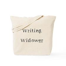 Writing widower Tote Bag