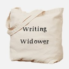 Writing widower Tote Bag