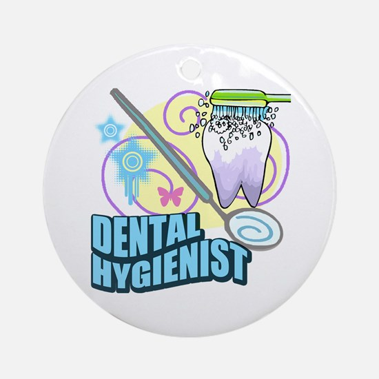Dental Hygienists Ornament (Round)