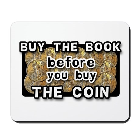 """Buy The Book..."" Mousepad"
