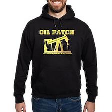 Oil Patch Pump Jack Hoodie(dark)Oil,Gas,Rig