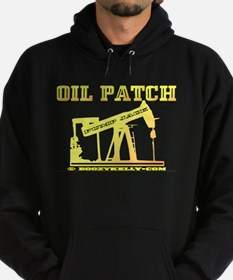 Oil Patch Pump Jack Hoodie(dark)Oil,Gas,Rig