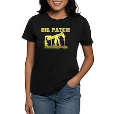 Oil Patch Pump Jack Tee,Oil