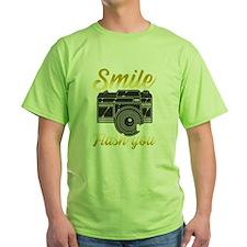 Gray Ribbon Brain Cancer Kids Light T-Shirt