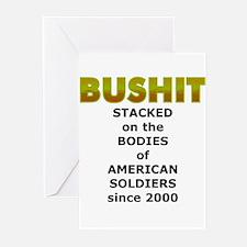 Stacked Bushit Greeting Cards (Pk of 10)