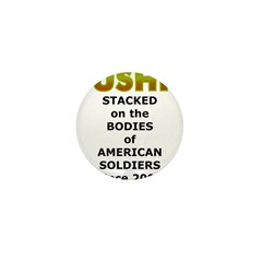 Stacked Bushit Mini Button (100 pack)