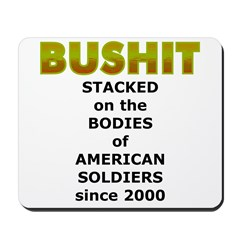 Stacked Bushit Mousepad